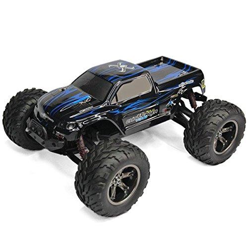 GPTOYS S911 1/12 RC Truggy/Buggy/Camion/Car (Auto Macchinina Radiocomandata Rock Crawler con 2 Ruote Motrici Elettrico Corsa Off-road Veicoli Toy) Blu