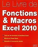 echange, troc Jean-François SEHAN - Le livre des Fonctions et Macros Excel 2010