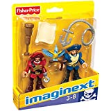 Fisher-Price Imaginext Pirate Captain & Officer