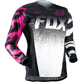 Fox Racing 180 2015 Womens MX/Offroad Jersey Black/Pink XL