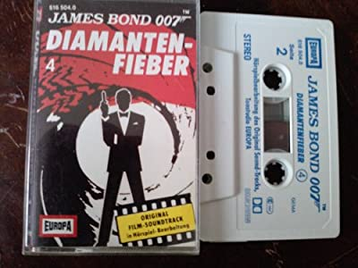 James Bond 007: Diamantenfieber - Europa (MC) gebr.