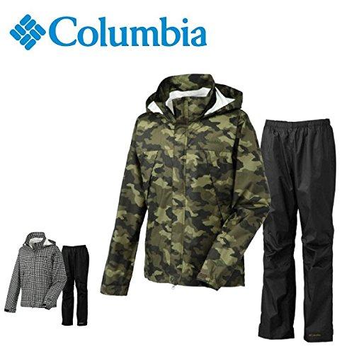 コロンビア グラスバレーパターンドレインスーツ メンズ