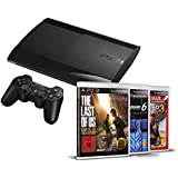 Sony PlayStation 3 500 GB inklusive Gran Turismo 6 + The Last of Us Complete Edition + Uncharted 3