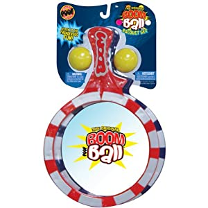 Boom Ball Racquet Set-