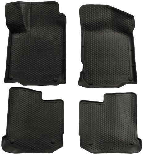 Husky Liners Custom Fit Front And Second Seat Floor Liner Set For Select Volkswagen Models (Black)