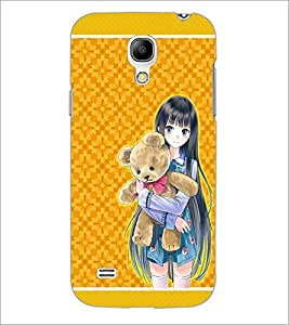 PrintDhaba Sweet Girl D-1288 Back Case Cover for SAMSUNG GALAXY S4 MINI (Multi-Coloured)