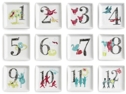 12 Days of Christmas Trinket Dishes