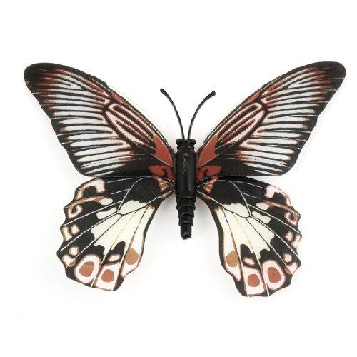 Kühlschrank Kühlschrank Decor Schmetterlings-Entwurf magnetischen Aufkleber, Grün, Rot