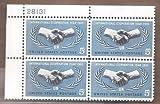 Stamps, U.S. International Cooperation Year 1965 Scott 1266 4 MNH