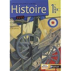 Histoire 1re L/ES/S, programme 2011 : Manuel grand format