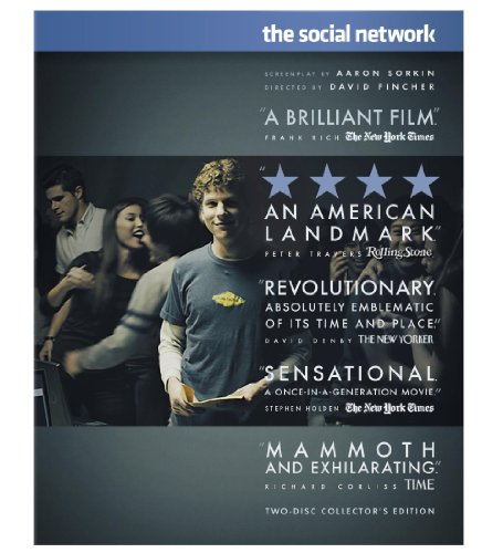 Blu-ray : The Social Network (, Dubbed, Dolby, AC-3, Widescreen)