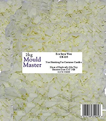 Moldmaster 2 kg Eco Soy Wax, White from House Of Handicrafts