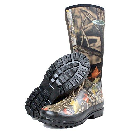 dirt-boot-neoprene-wellington-muck-boot-hunt-camo-uk-size-6-eu40