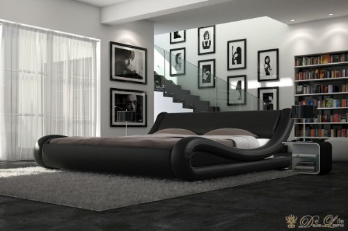 kaufen neu bett prima donna 180x200 cm schwarz napalon. Black Bedroom Furniture Sets. Home Design Ideas