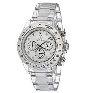 Toy Watch Women's 8008WHP Quartz Chronograph Analog Watch