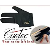 Hot Sale- New Black Good Quality Cuetec Billiard Glove Pool Accessory Billiard Cue