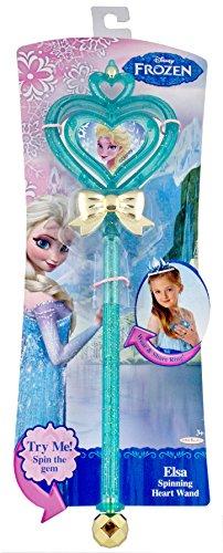 Elsa Spinning Heart Wand - 1