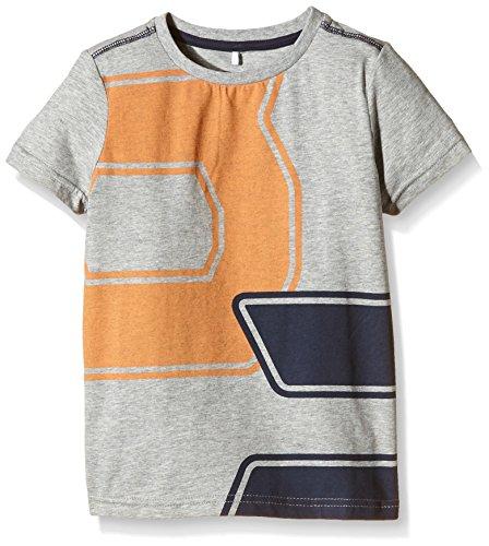 Jungen T-Shirt Ean  Grau  Grey Melange   116  Herstellergröße  110