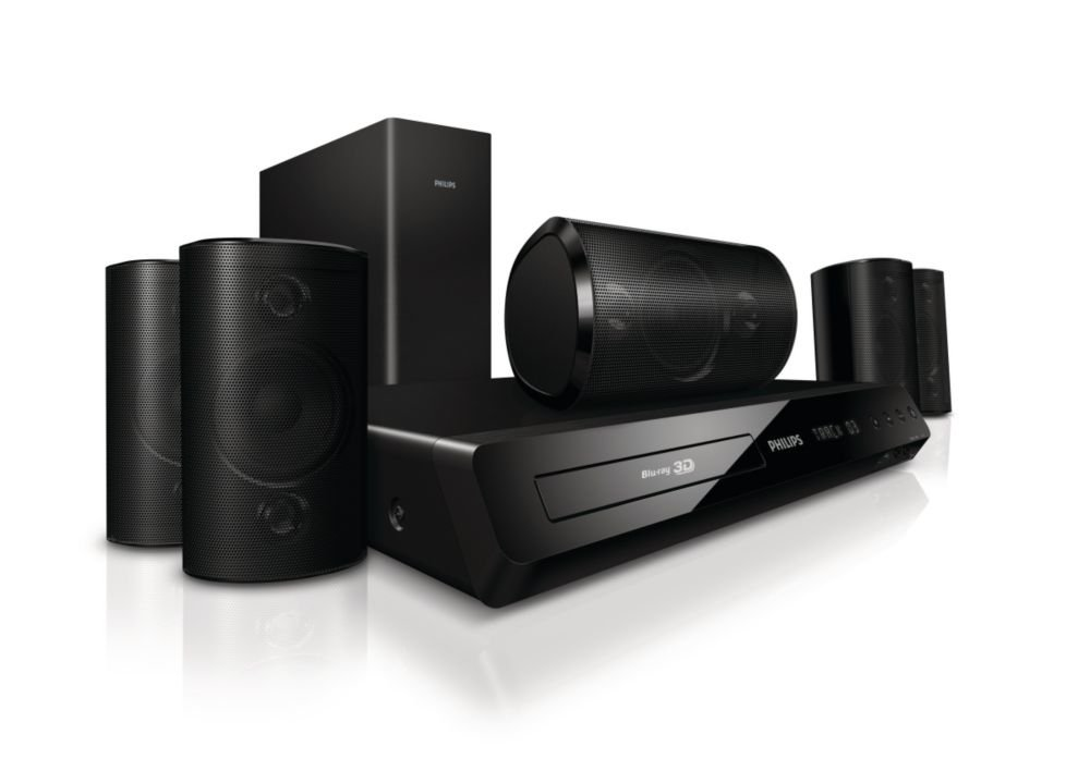 Philips HTS3564/F7 Philips 3D Blu-Ray 5.1 Home Theatre System