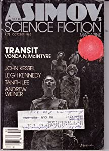 Isaac Asimov's   1983--October by Tanith Lee, Vonda N. McIntyre. (Cover illustration Wayne Douglas Barlowe.) Cover illustration Wayne Douglas Barlowe. Contributors include Mary Gentle and Wayne Douglas Barlowe
