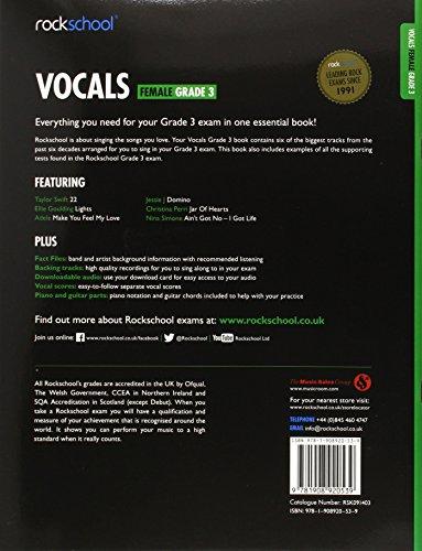Rockschool Female Vocals Grade 3 (2014-2017)