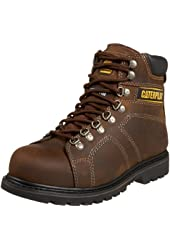 "Caterpillar Men's Silverton 6"" Steel Lace-To-Toe Work Boot"