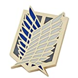 Japanese Anime Attack on Titan Affiliation Corps Badge Metal Pin Colorful L Size 04