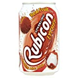 Rubicon Sparkling Lychee 330ml Soft Drink Case of 24