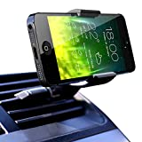 Koomus Air Vent Universal Smartphone Car Mount Holder Cradle for iPhone 5 5S 5C 4 4S Samsung Galaxy S5 S4 S3 Note 3 and all Smartphones in Black