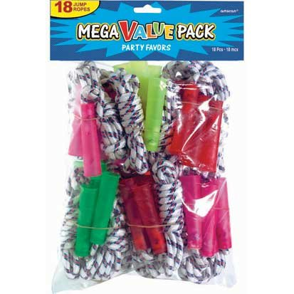 Jump Rope Mega Value Pack, 18ct (Kids Jump Ropes compare prices)