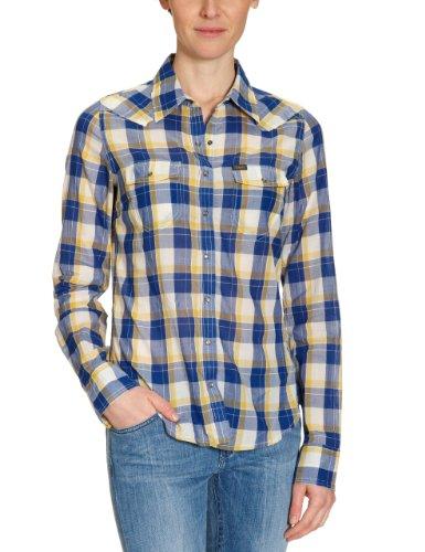 Lee Slim Western L492QBFN00L Women's Shirt Yellow