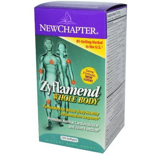New Chapter - Zyflamend, Whole Body 120 Softgels