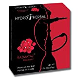 Hydro Herbal 50g Raspberry Hookah Shisha Tobacco Free Molasses