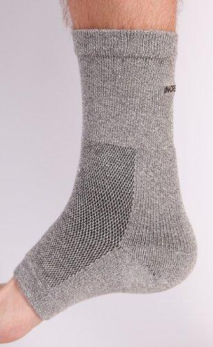 Incrediwear Ankle Brace (Grey, Small/Medium) front-176299