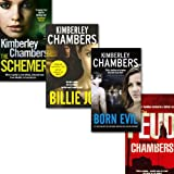 Kimberley Chambers Kimberley Chambers Collection 4 Books Set, (The Feud, The Schemer, Born Evil and Billie Jo)