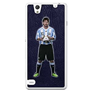 a AND b Designer Printed Mobile Back Cover / Back Case For Sony Xperia C4 (SONY_C4_015)