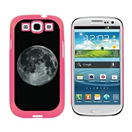 Moon Space - Snap On Hard Protective Case for Samsung Galaxy S3 - Pink
