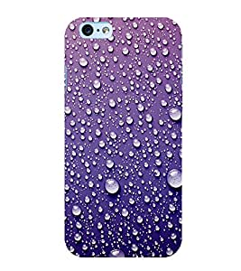 Water Droplets 3D Hard Polycarbonate Designer Back Case Cover for Apple iPhone 6 Plus :: Apple iPhone 6+