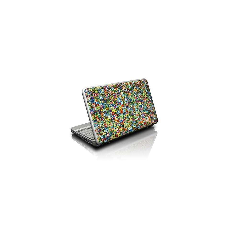 Line Dancing Design Skin Decal Sticker for Universal Netbook Notebook 10 x 8