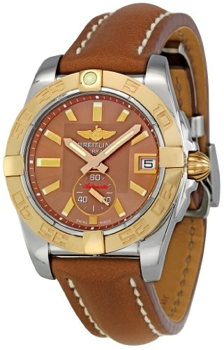 Breitling Men's C3733012/Q584BRLD Galactic 36 Bronze Dial Watch