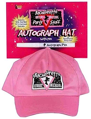 Forum Novelties Bachelorette Autograph Hat and Pen - 1