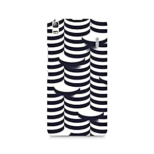 TAZindia Printed Hard Back Case Cover For Lenovo A7000