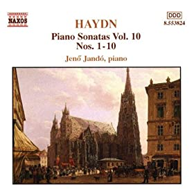 Piano Sonata (Partita) No. 1 in G major, Hob.XVI:8: IV. Allegro