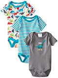 Baby Gear Baby-Boys Newborn Dino Dude 3 Pack Bodysuits