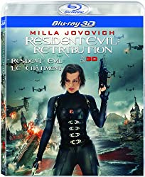 Resident Evil: Retribution 3D [Blu-ray 3D + Blu-ray]