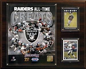 NFL Oakland Raiders All -Time Great Photo Plaque by C&I Collectables