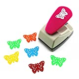 CADY Crafts Punch Paper Punches Creative Life Crafts Engraving Hole Punch 2-Inch -DIY Paper Punch for Card Scrapbooking Craft Punch Embossing Border School Supplies (Butterfly-2) (Color: Butterfly-2)
