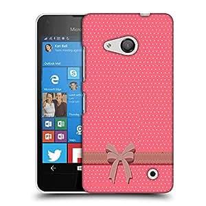 Snoogg Gift Polka Designer Protective Back Case Cover For Nokia Lumia 550