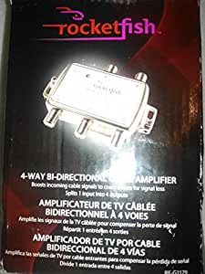 Rocketfish 4-way Bi-directional Cable Amplifier