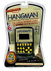 Handheld Pocket Arcade Electronic Hangman Game